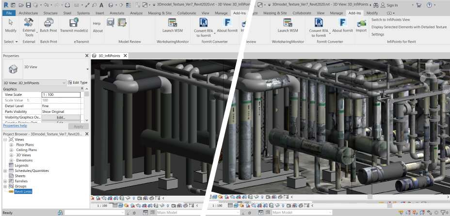 Scan-zu-CAD-Workflow mit InfiPoints